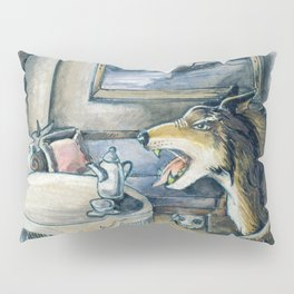 GrimmSeries5 - Wolf in the house Pillow Sham