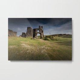 Pennard castle Metal Print