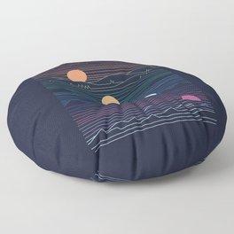 Sunset Floor Pillow