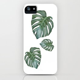 Monstera The Tree iPhone Case