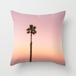 Stand out - ombré pink Throw Pillow