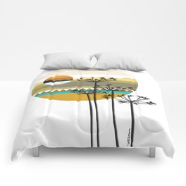 Hunting High And Low Comforters