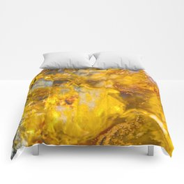 Fire Crystal - gemstones, photography #society6 Comforters