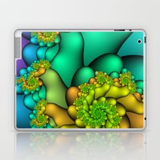 Spiral Blossoms Laptop & iPad Skin