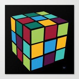 Rubiks Cube Canvas Print