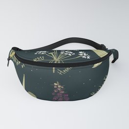 Baneful Herbs- Botany for witches Fanny Pack