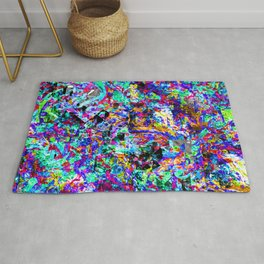 color chaos bywhacky Rug