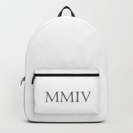 Roman Numerals - 2004 Backpack