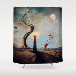 Brave New World Shower Curtain