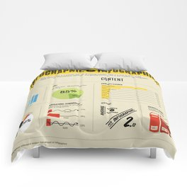 Infographic of Infographics Comforters