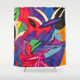 Sagittarius Strut Shower Curtain