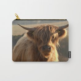 Young Highland Cow Carry-All Pouch