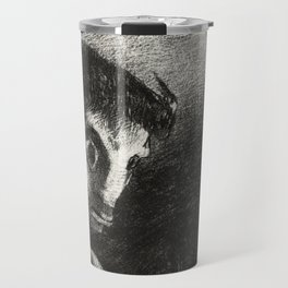 """Odilon Redon """"The Night The Chimera Gazed at All Things with Fear"""" Travel Mug"""