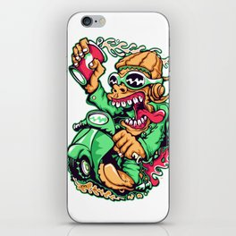 GREEN - Scooter iPhone Skin