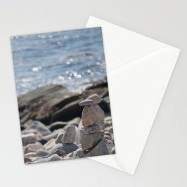 Balancing Serenity Rocks Stationery Cards