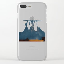 Moonset Clear iPhone Case