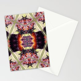 Morning Rose Kaleidoscope Photographic Pattern #1 Stationery Cards