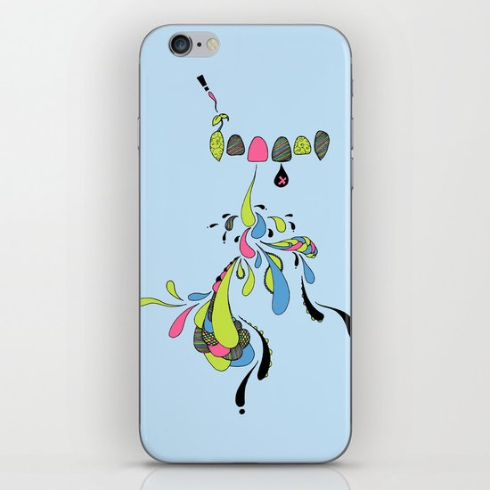 Growing Pain iPhone & iPod Skin