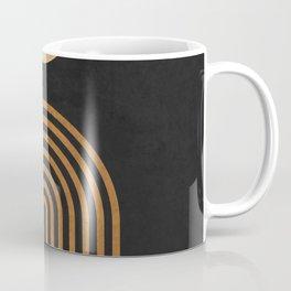 Midnight Jazz - Minimal Geometric Abstract - Black 1 Coffee Mug