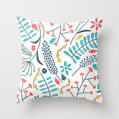 Koromiko Throw Pillow