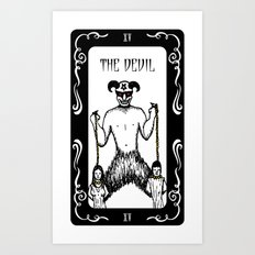 The Devil Tarot Art Print