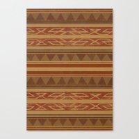 navajo Canvas Prints featuring Navajo  by Terry Fan