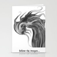 dragons Stationery Cards featuring Dragons by DragonsTime