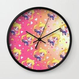 Sailor Moon Crystal Texture Wall Clock