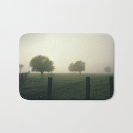 Misty Morning in the Waikato King Country Bath Mat