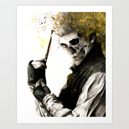 The Demon Barber Art Print