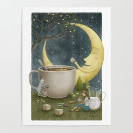 Midnight Coffee Poster