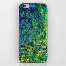 Abstract Flowers yellow and green iPhone & iPod Skin