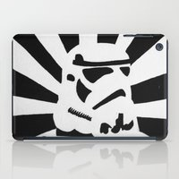 stormtrooper iPad Cases featuring StormTrooper by Shelly Lukas Art