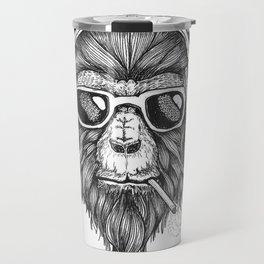 Smokin' Monkey Travel Mug