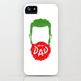 Italian Dad - Tattooed and Bearded T-Shirt iPhone Case