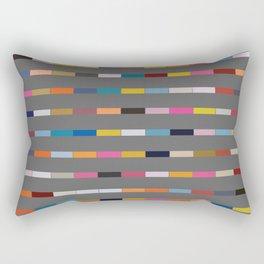 Gaunt Grey Rectangular Pillow