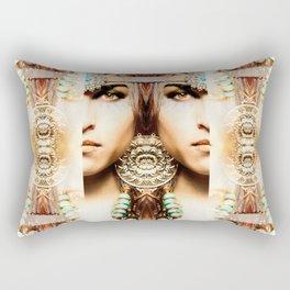 DIVINE PRIESTESS Rectangular Pillow