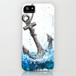 Sea Anchor iPhone Case