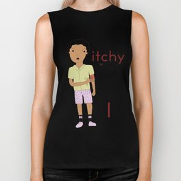 I is for itchy Biker Tank