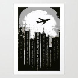 Cold Reading Art Print