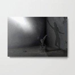 Embrace my shadow Metal Print