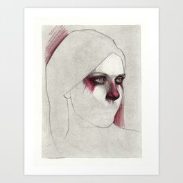 NaNoDrawMo 2012 - 20 Art Print