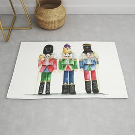 Three Little Nutcrackers Rug