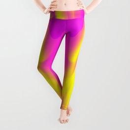 DREAM PATH (Purples, Fuchsias & Yellows) Leggings