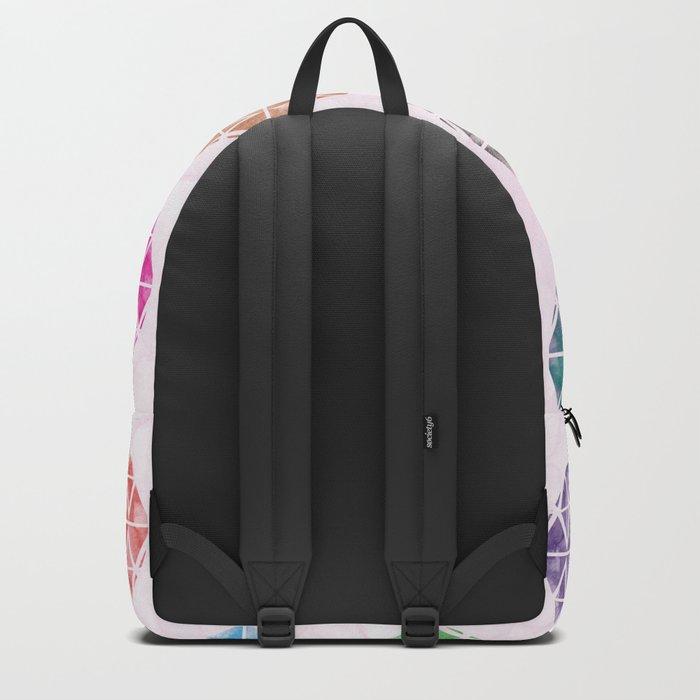 Colorful Geometric II Backpack