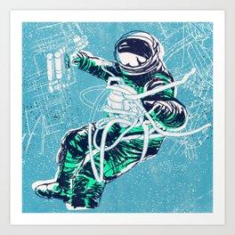 OrbitalFleets Crew Series: No.3 Art Print