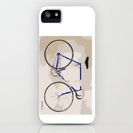 The Gios Track Bike iPhone Case