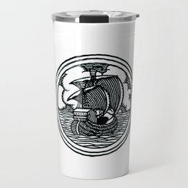 Ship stamp Travel Mug