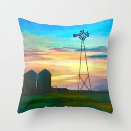 Amarillo by Morning Throw Pillow