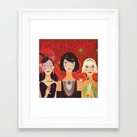 disco Framed Art Prints featuring Disco by Jonny Bateau
